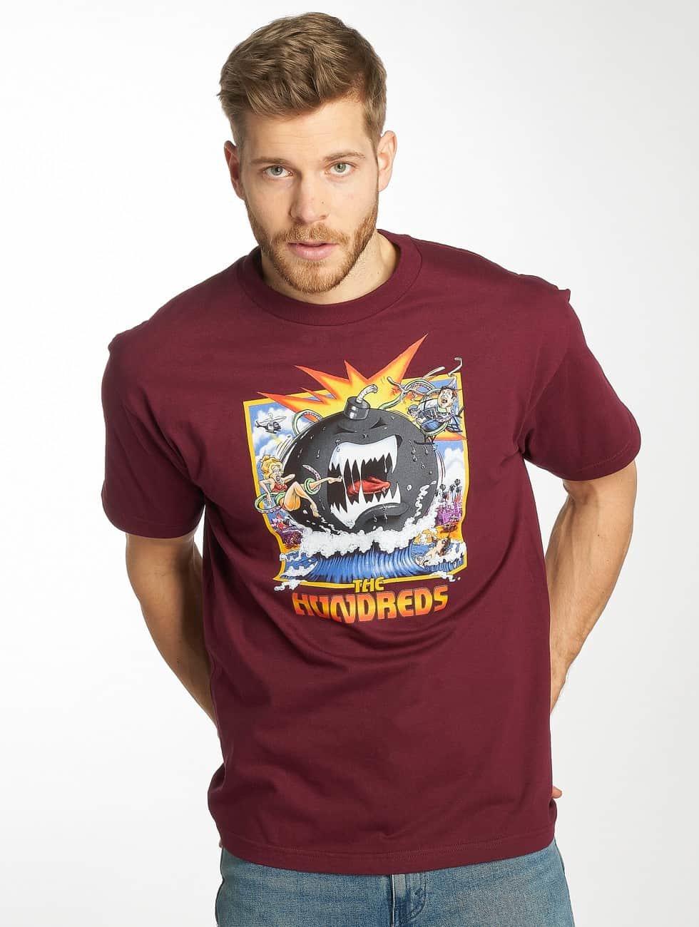 The Hundreds T-Shirt Dixon rouge