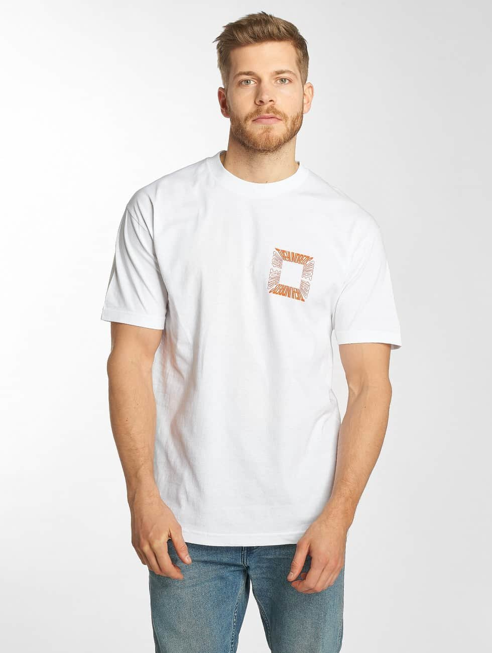 The Hundreds T-shirts Square hvid