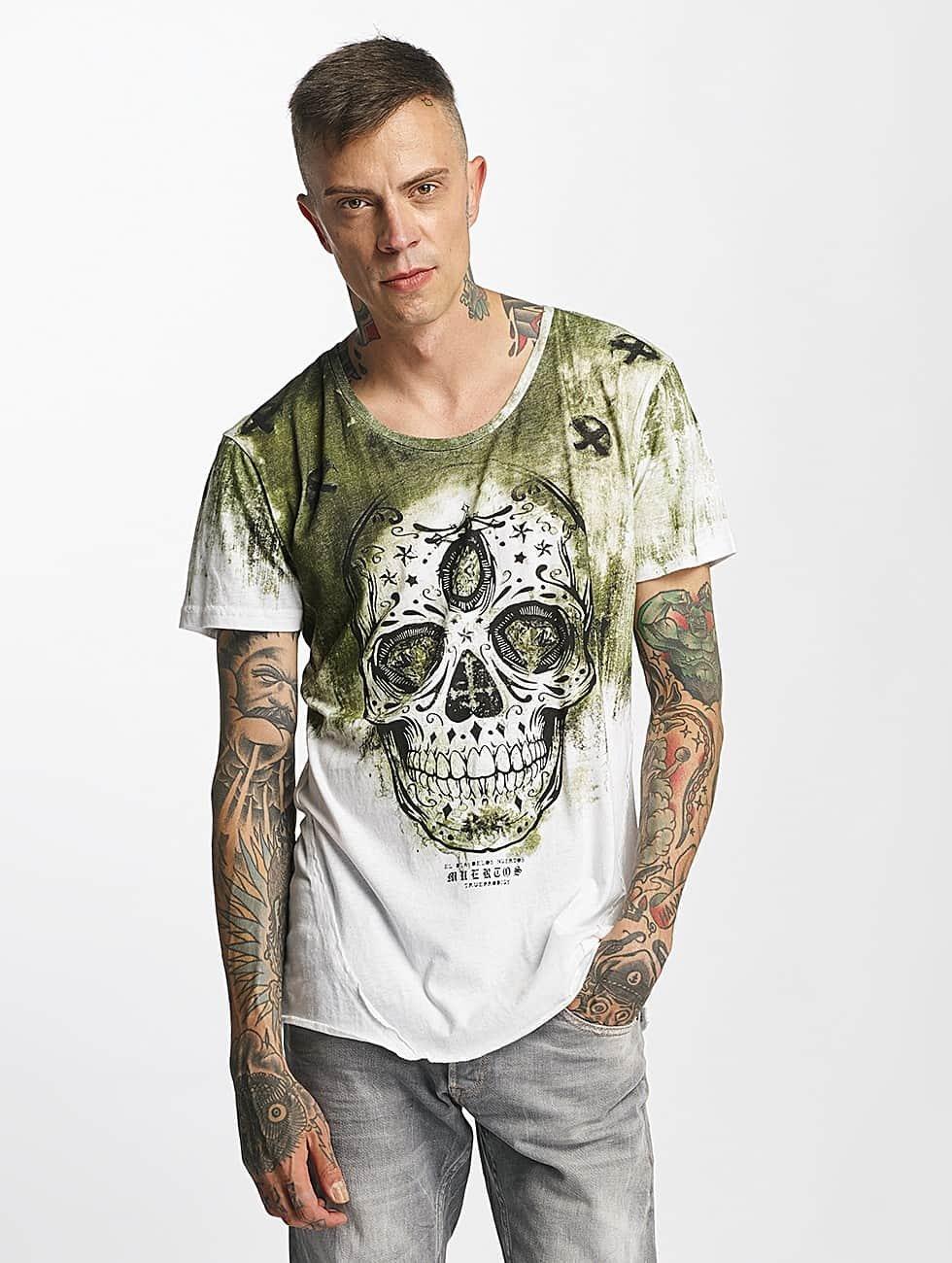 trueprodigy Camiseta Skull verde