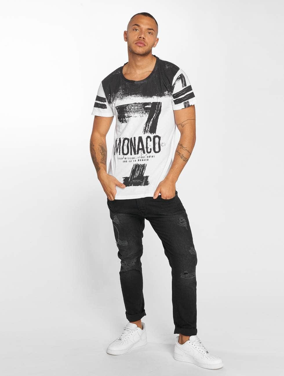 trueprodigy T-paidat Go To Monaco valkoinen