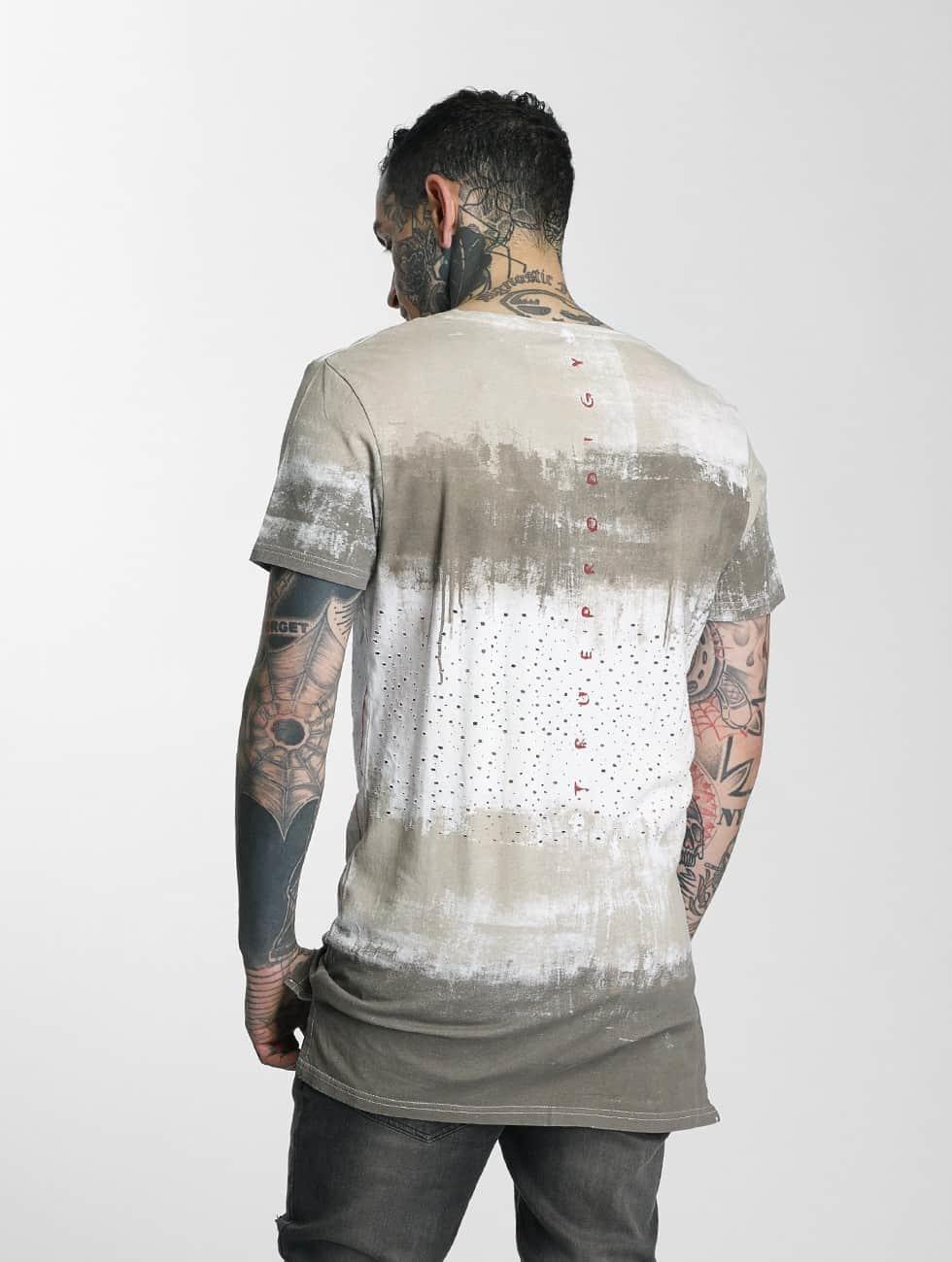 trueprodigy T-Shirt Cloudy grey