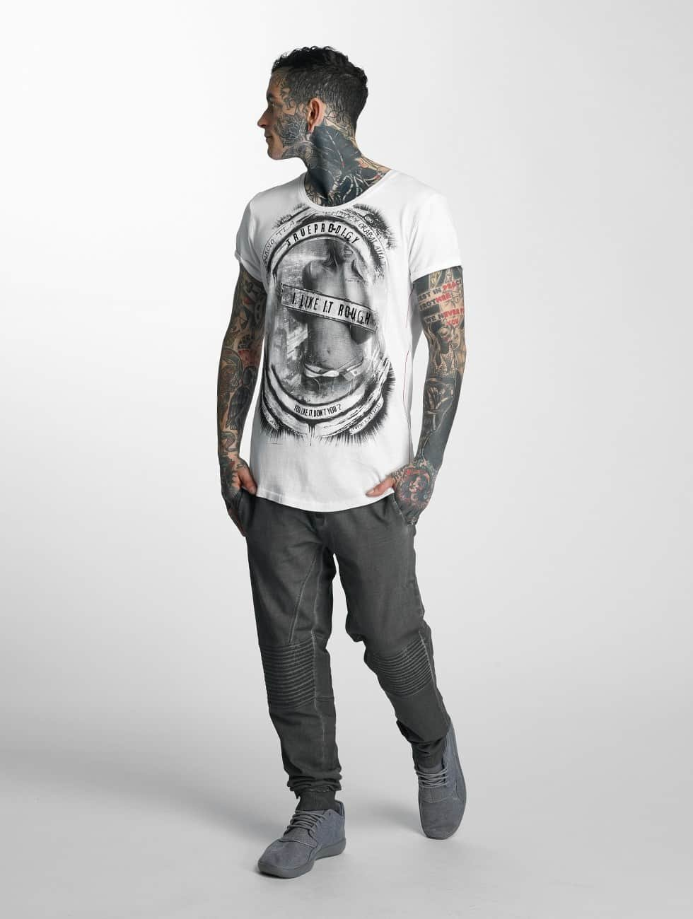 trueprodigy T-Shirt Like It Rough weiß