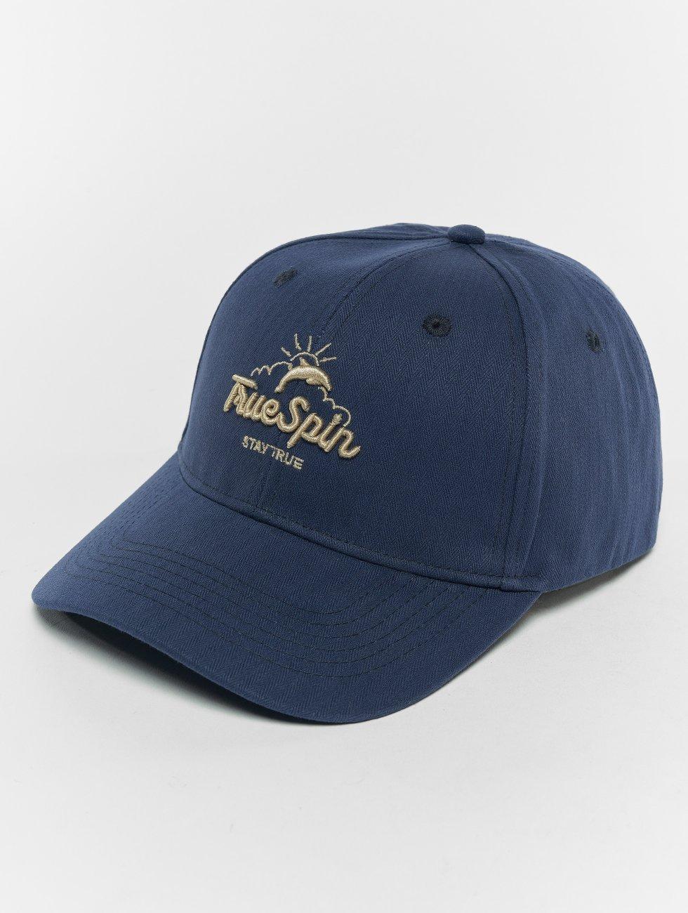 TrueSpin Snapback Cap Dolphins blau