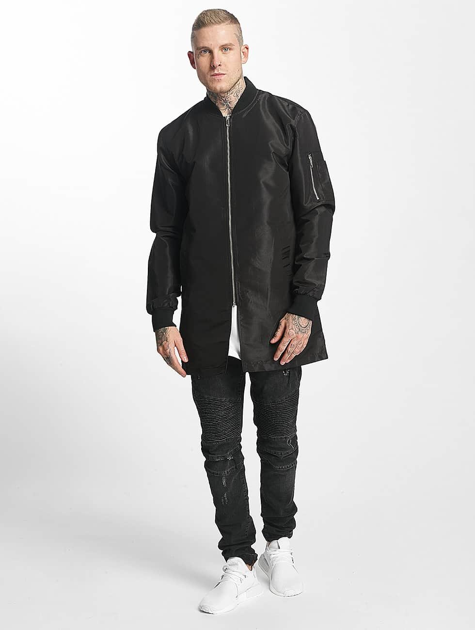 Tuffskull Куртка-бомбардир Blouson черный
