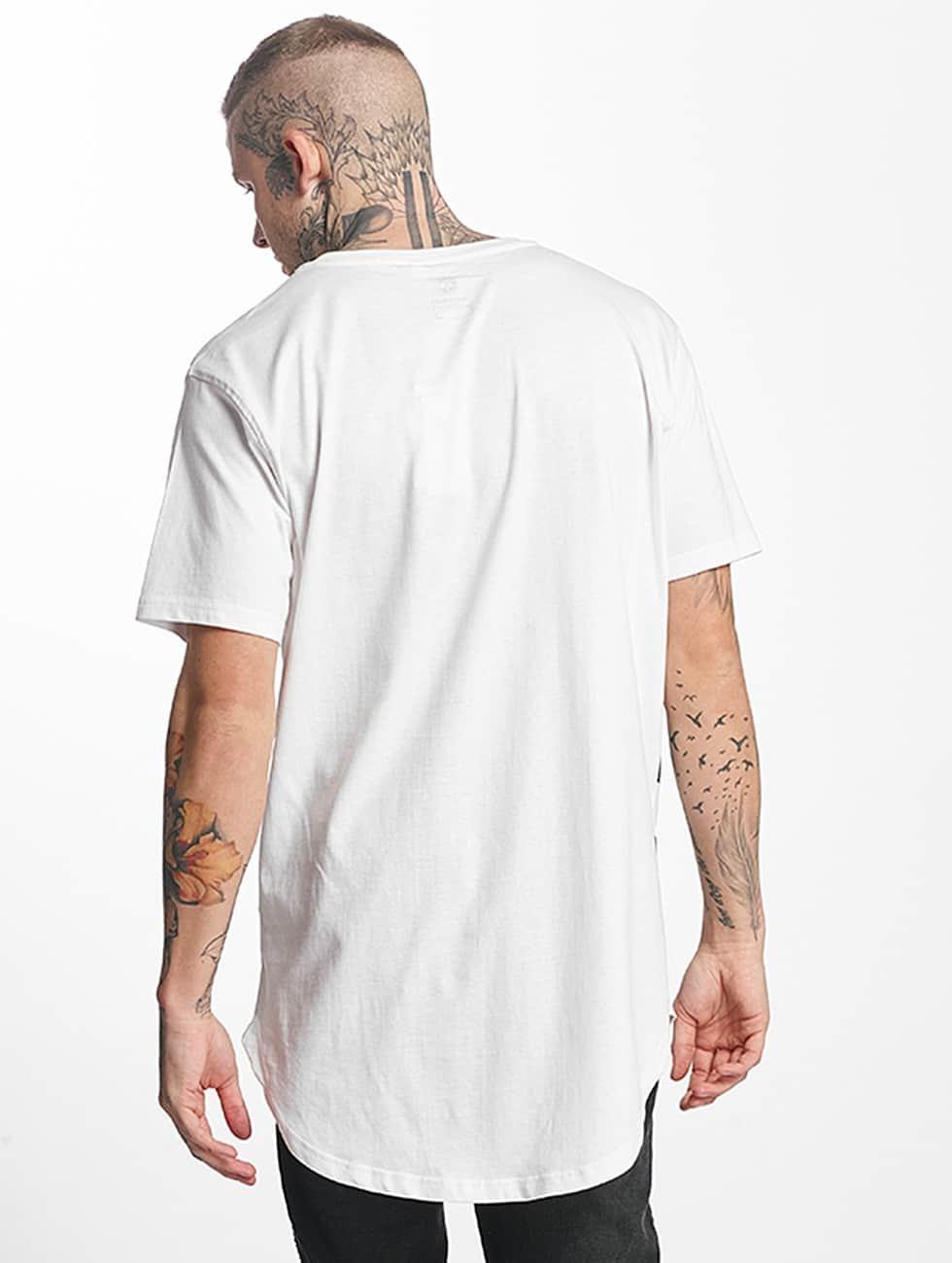 Tuffskull Camiseta BIGSKULL Long blanco