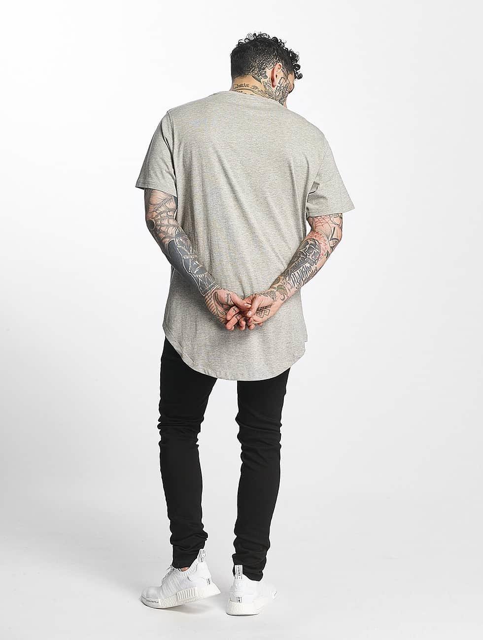 Tuffskull T-Shirt Zipline grey