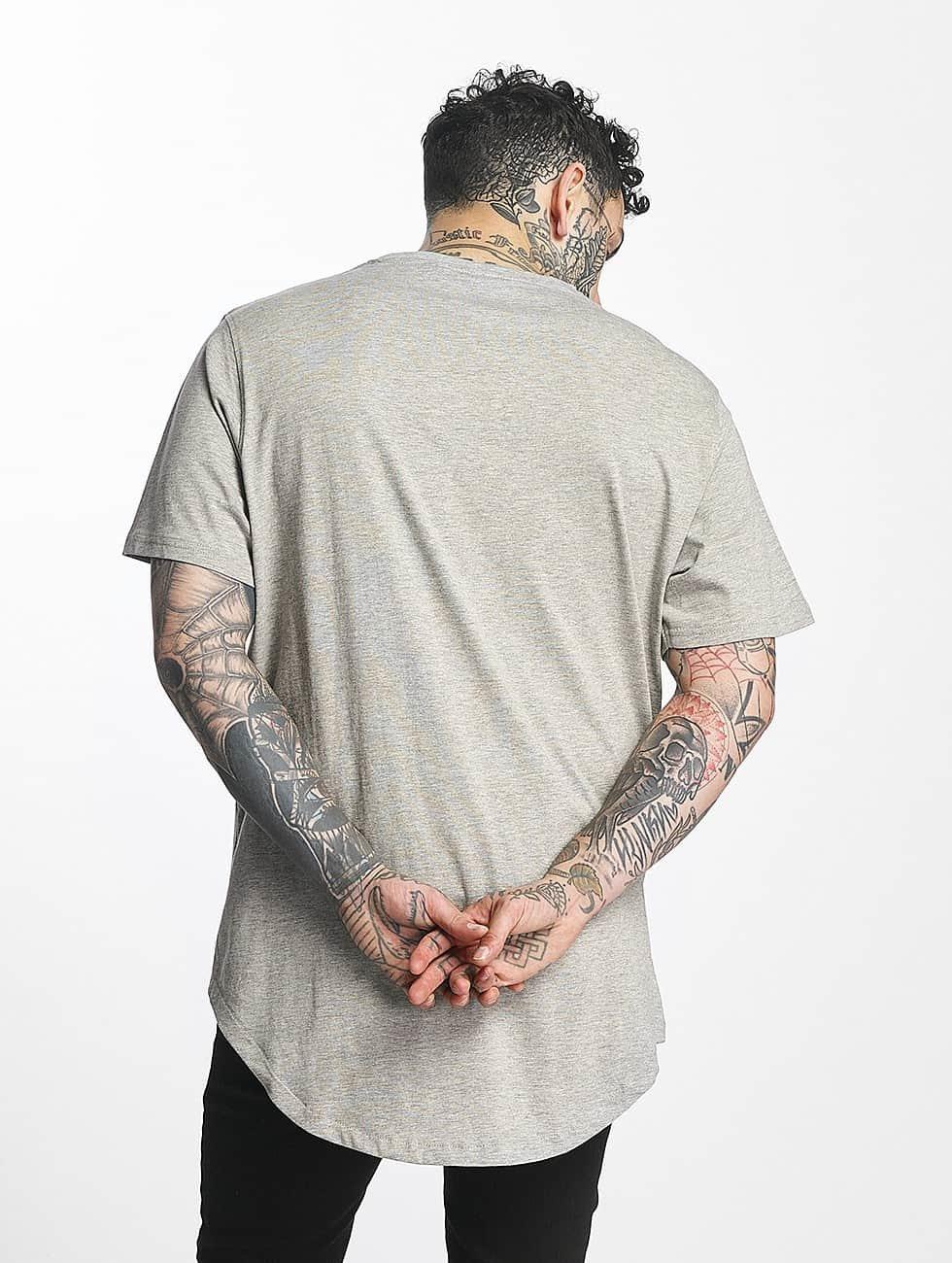 Tuffskull T-Shirty Zipline szary