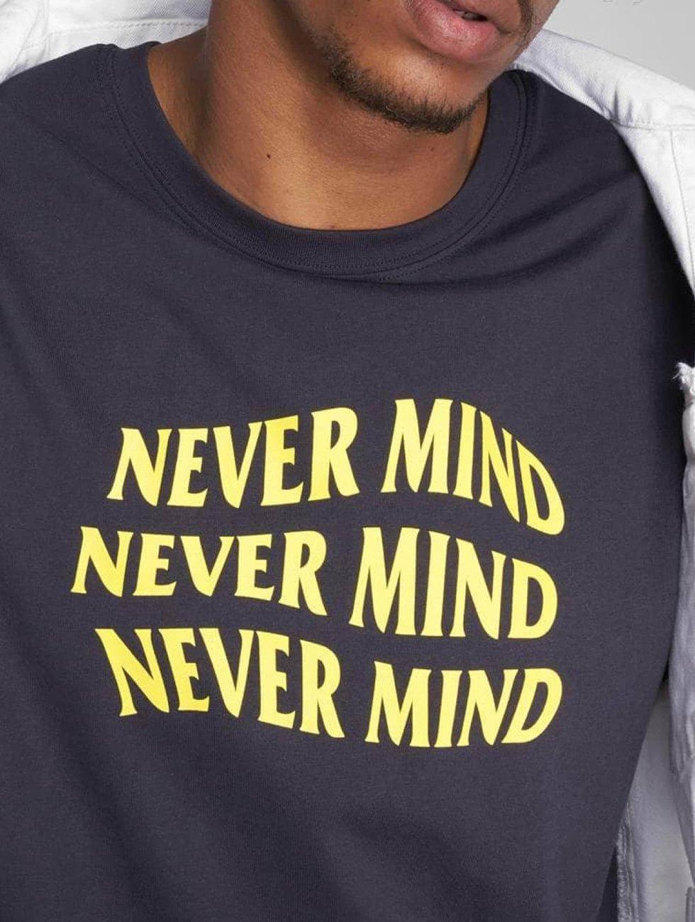 TurnUP t-shirt Never blauw
