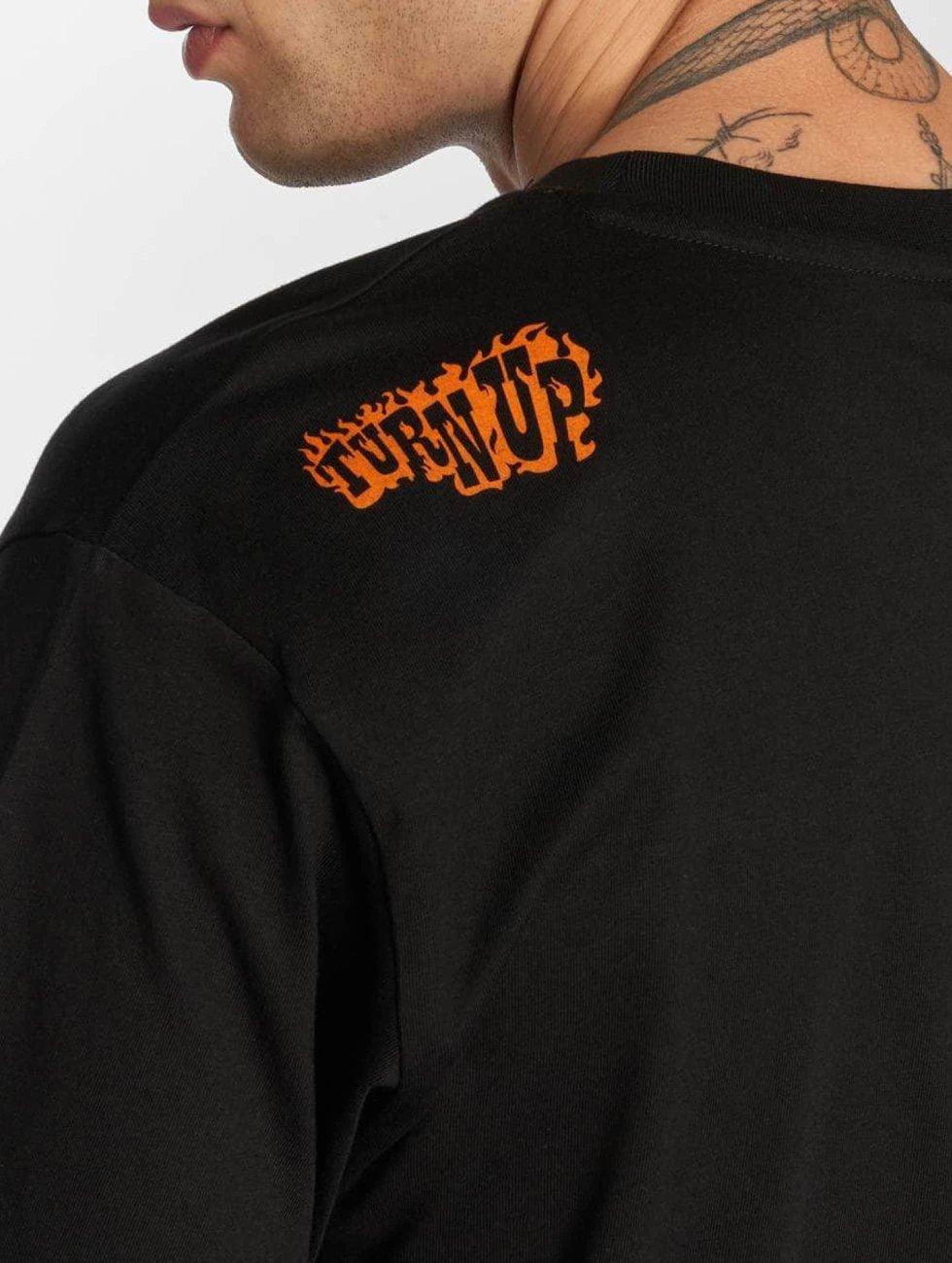 TurnUP T-Shirt F U schwarz