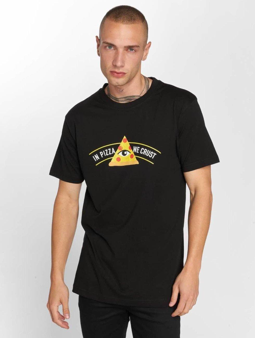 TurnUP T-Shirty Crust czarny