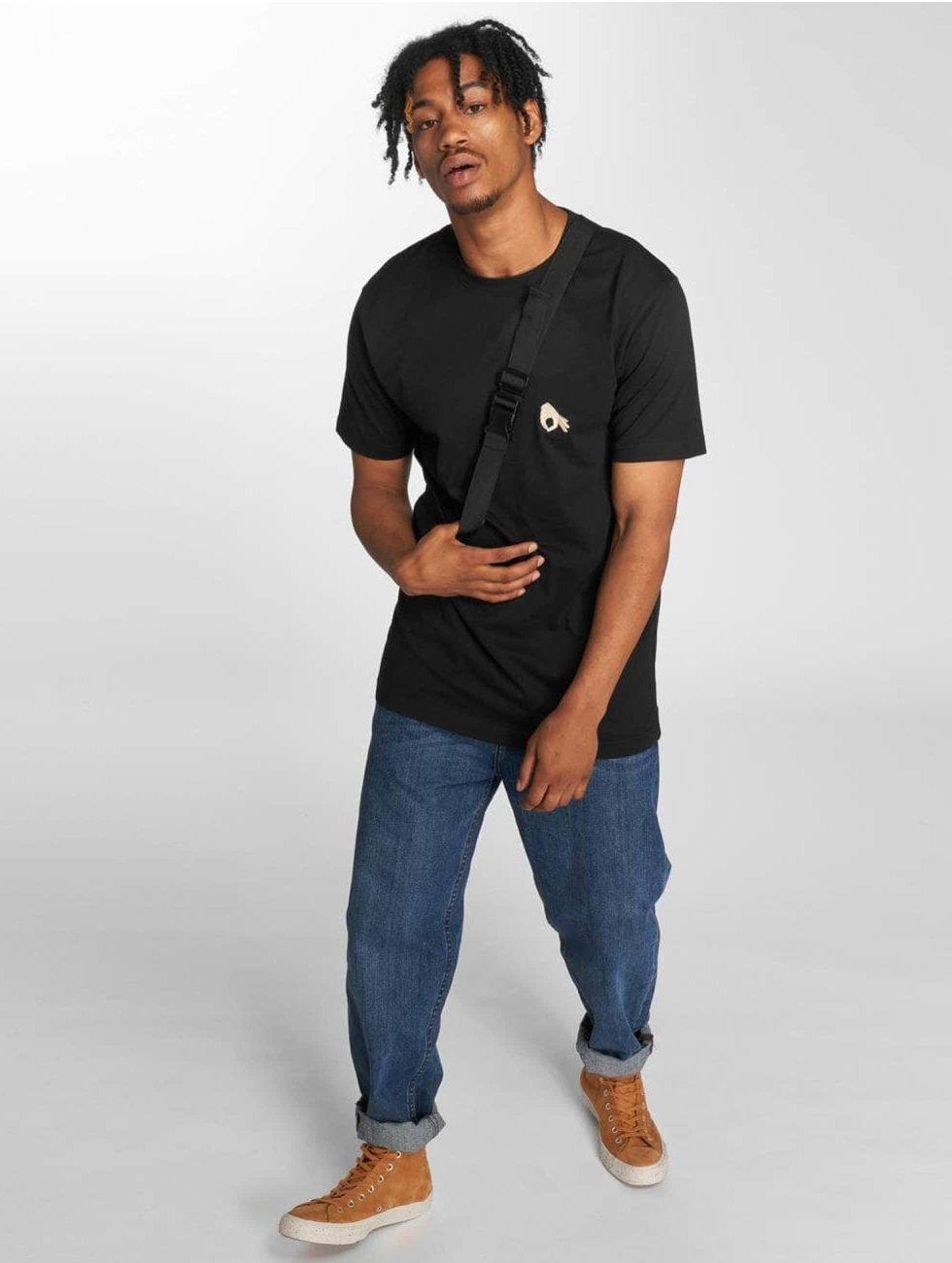 TurnUP T-skjorter Neigschaut svart