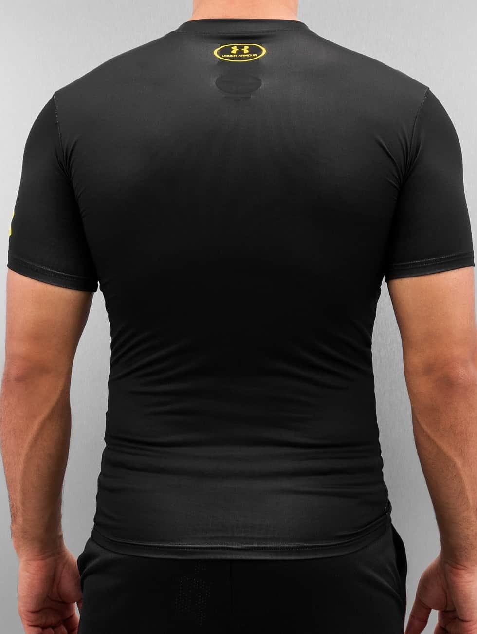 Under Armour T-Shirt Alter Ego Batman Compression schwarz