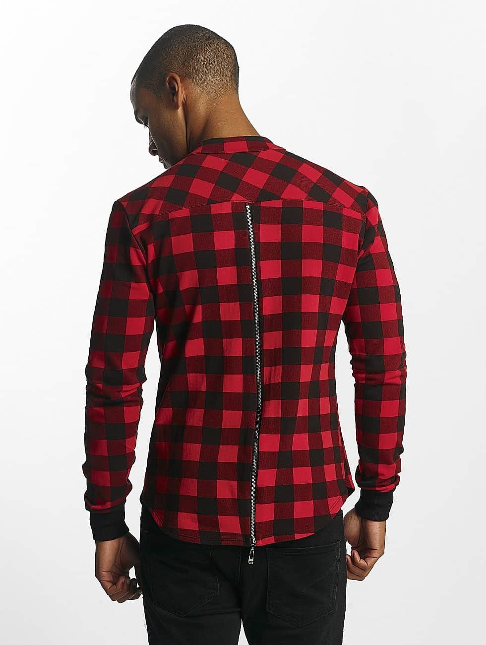 Uniplay Camisa Checkered rojo