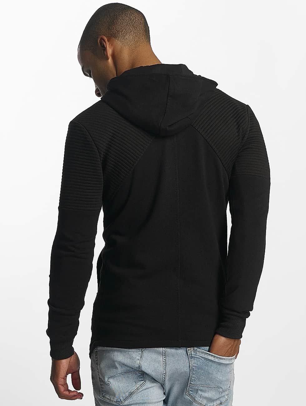 Uniplay Sudaderas con cremallera Zipper negro