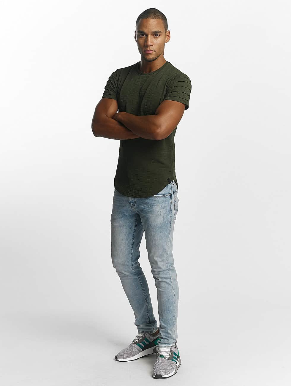 Uniplay t-shirt Embossed khaki