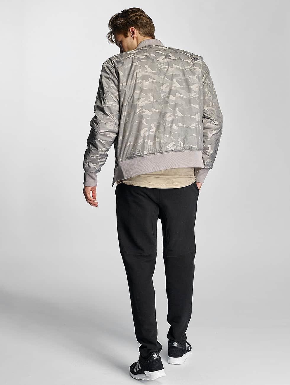 Urban Classics Bomber jacket Tonal Camo grey