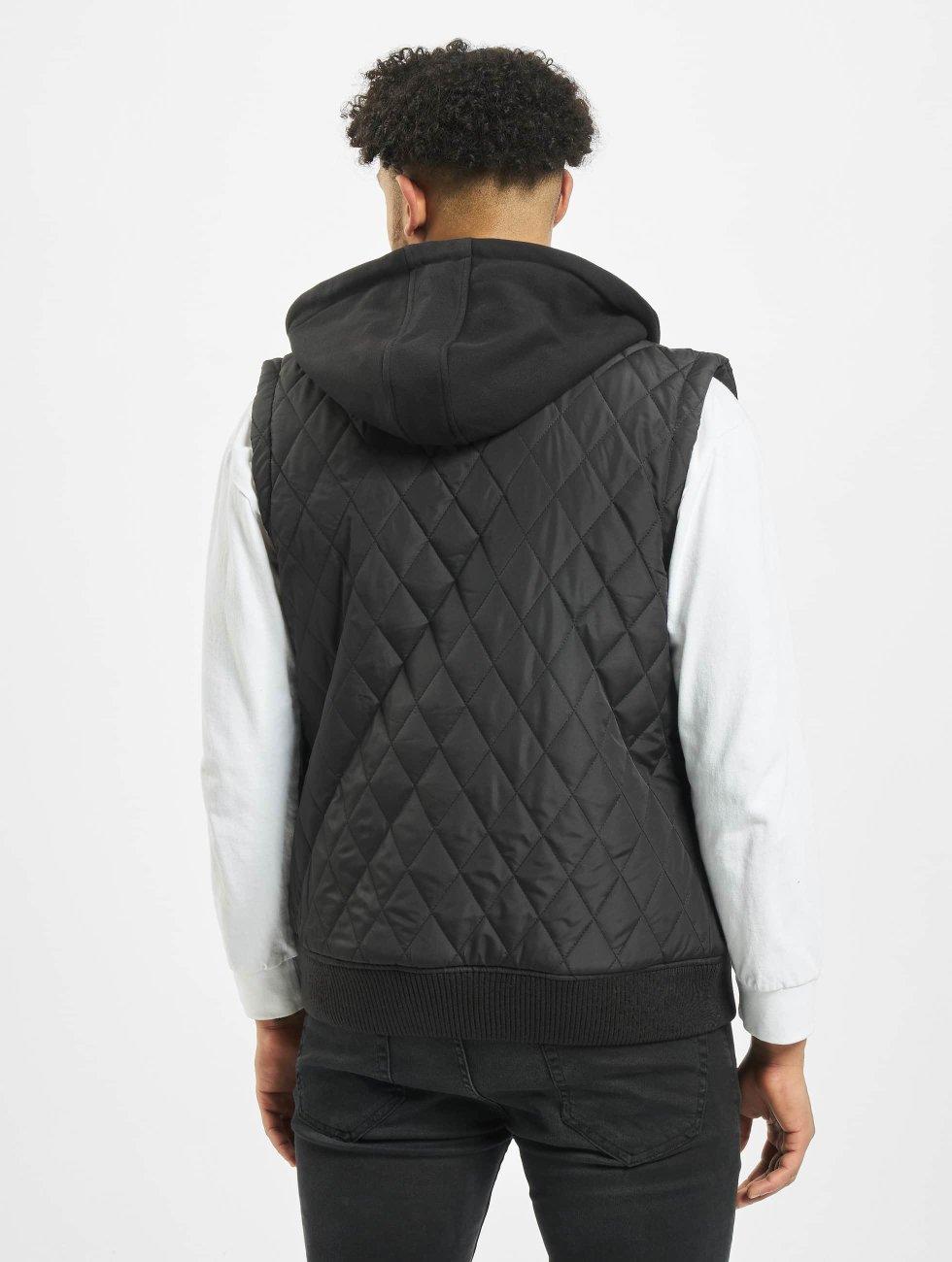 Urban Classics Chaleco Diamond Quilted negro