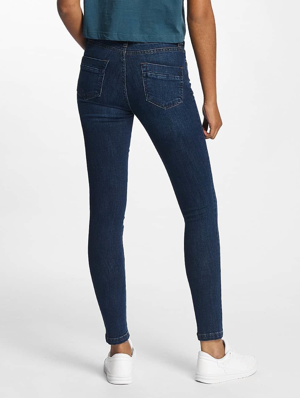 Urban Classics Jeans slim fit Skinny Denim blu