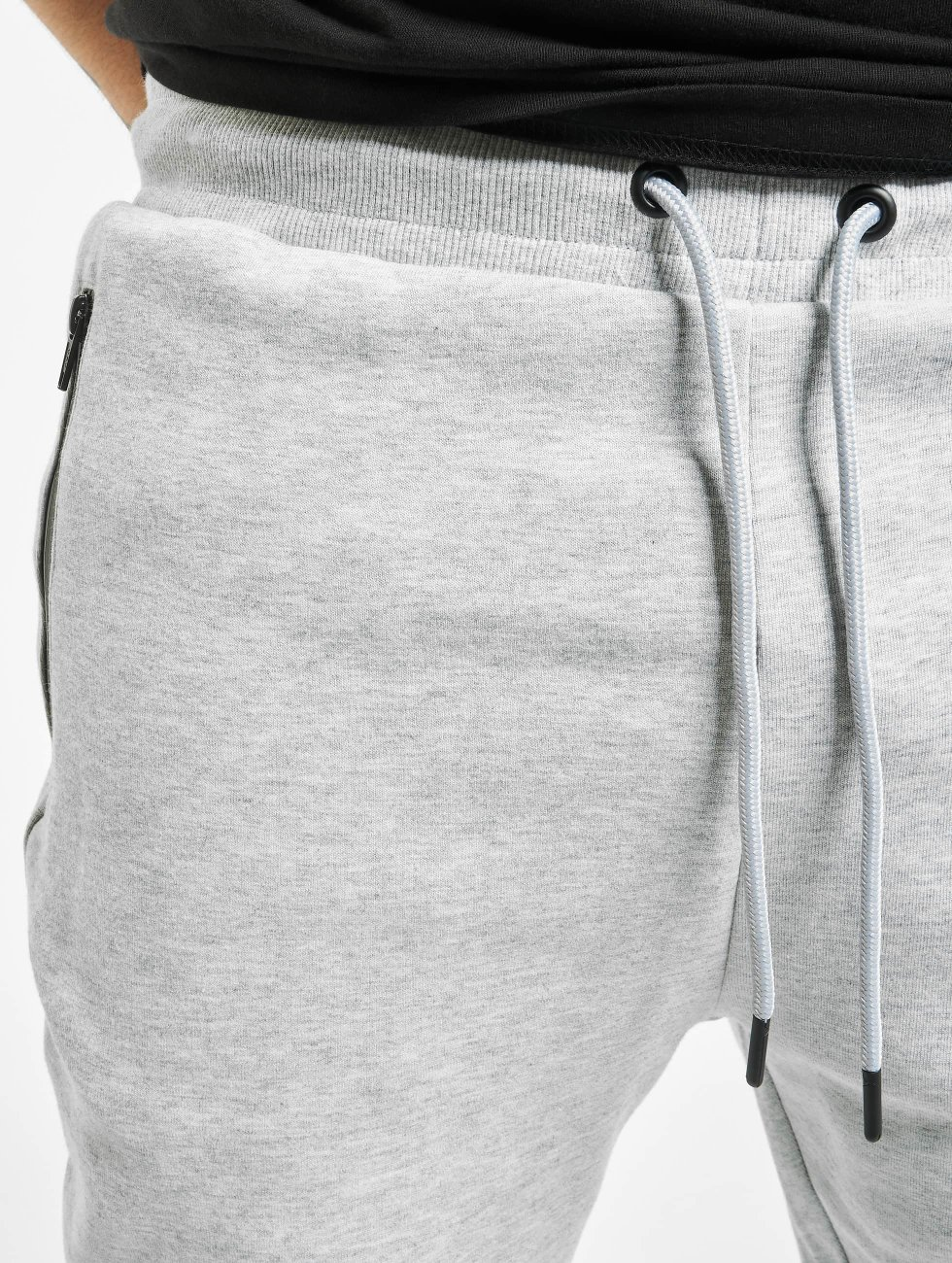 Urban Classics Joggebukser Athletic Interlock grå