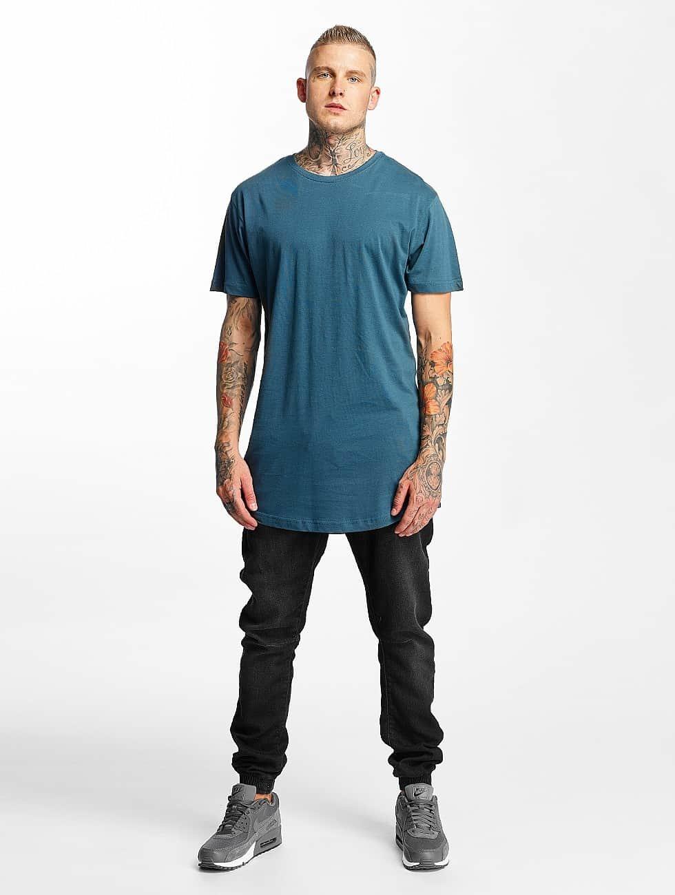 Urban Classics joggingbroek Knitted Denim zwart