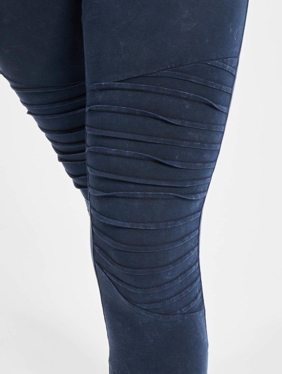 Urban Classics Legging Denim Jersey blau