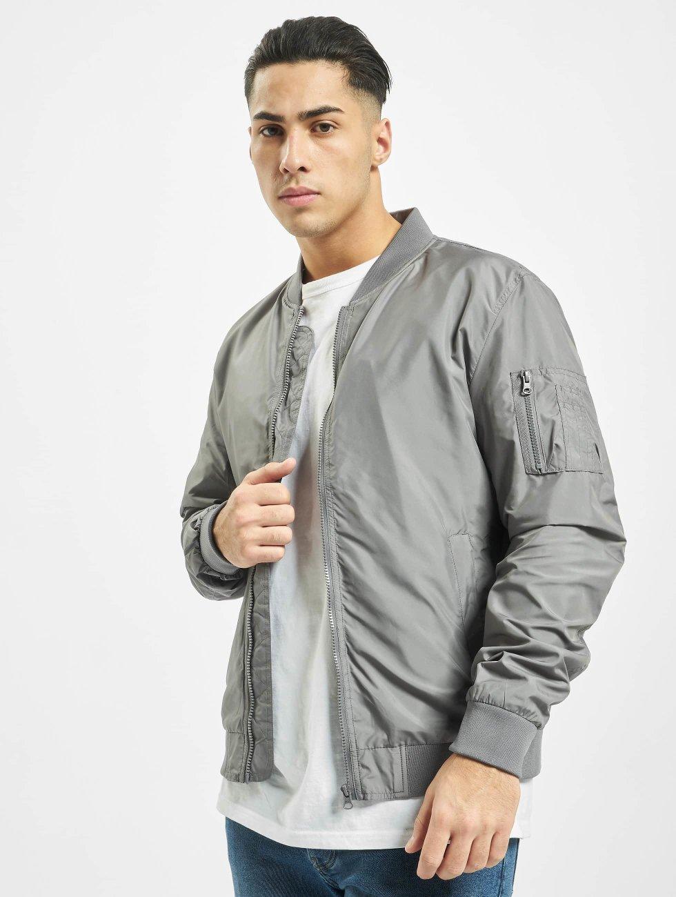 Urban Classics Lightweight Jacket Light grey