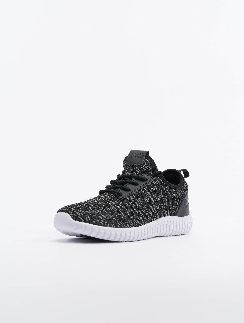 Urban Classics Sneakers Knitted Light èierna