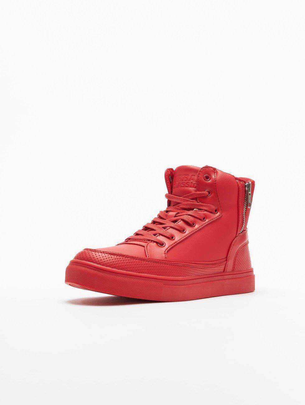 Urban Classics Sneakers Zipper red