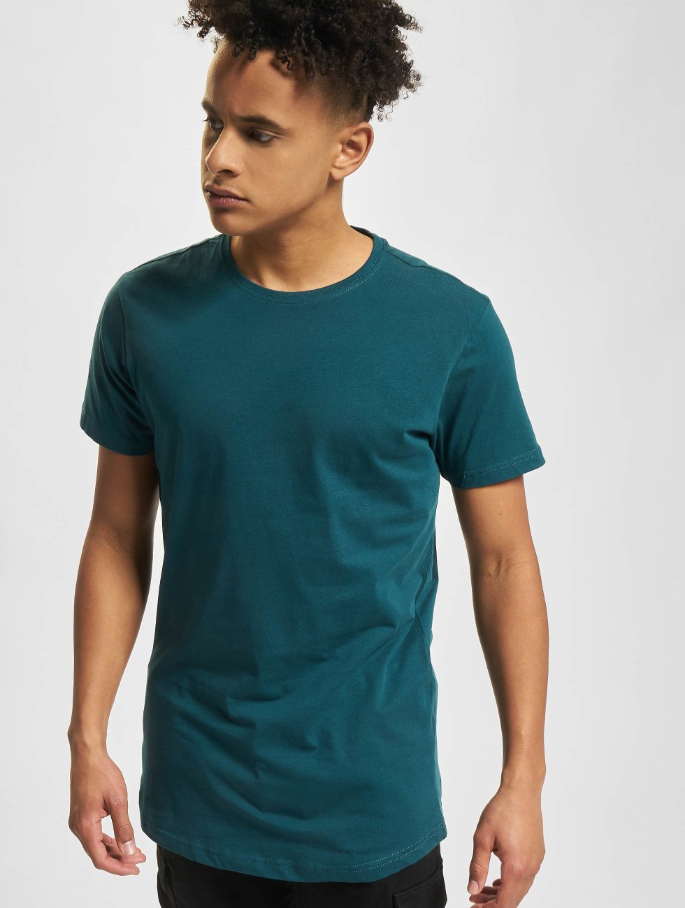 Urban Classics t-shirt Shaped Oversized groen