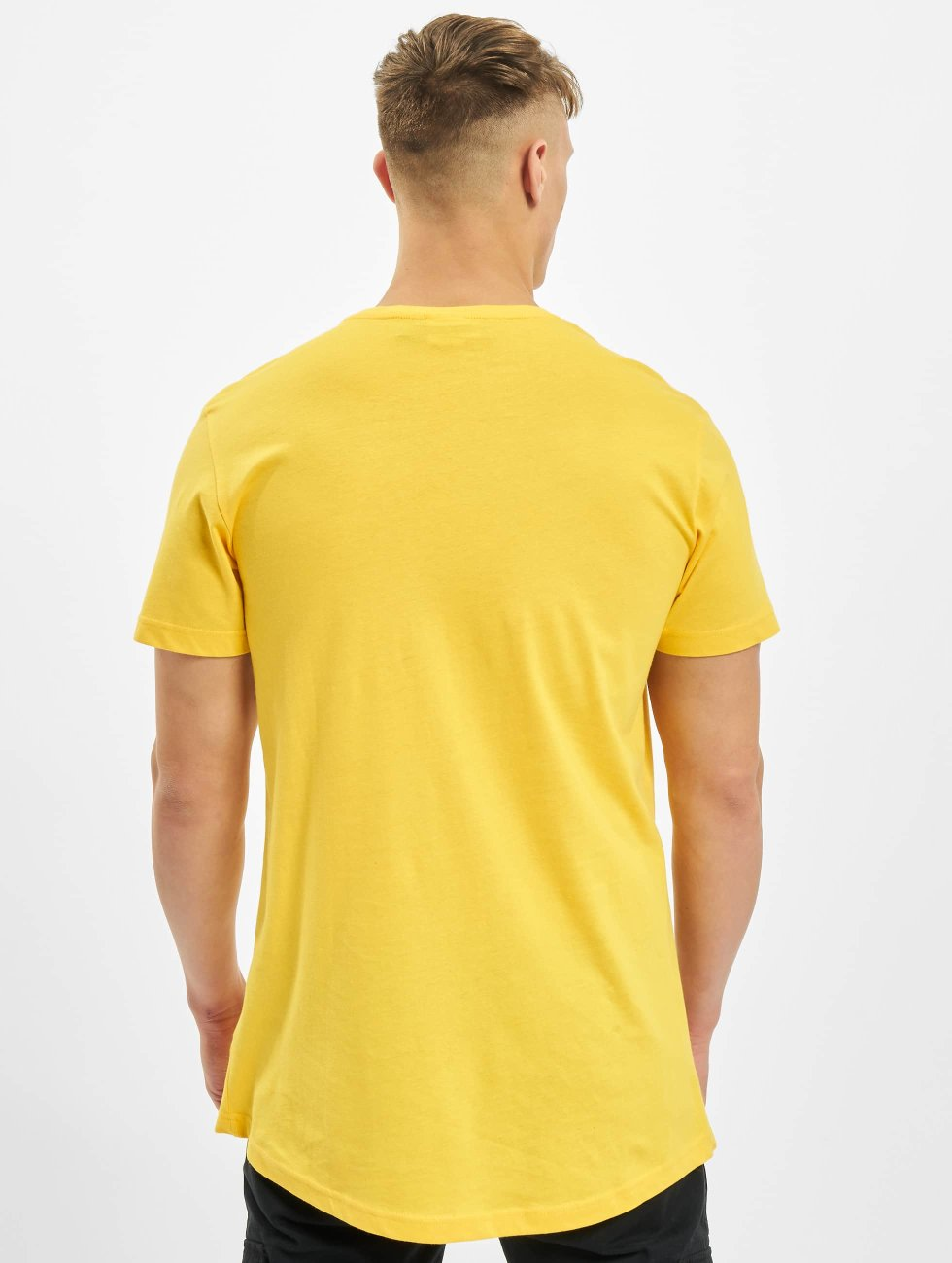 Urban Classics T-Shirt Shaped Oversized Long jaune