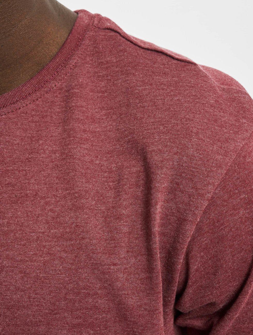 Urban Classics Tall Tees Shaped Melange Long rood