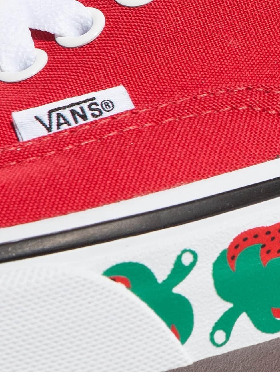 Vans Sneakers Authentic Strawberry Tape èervená