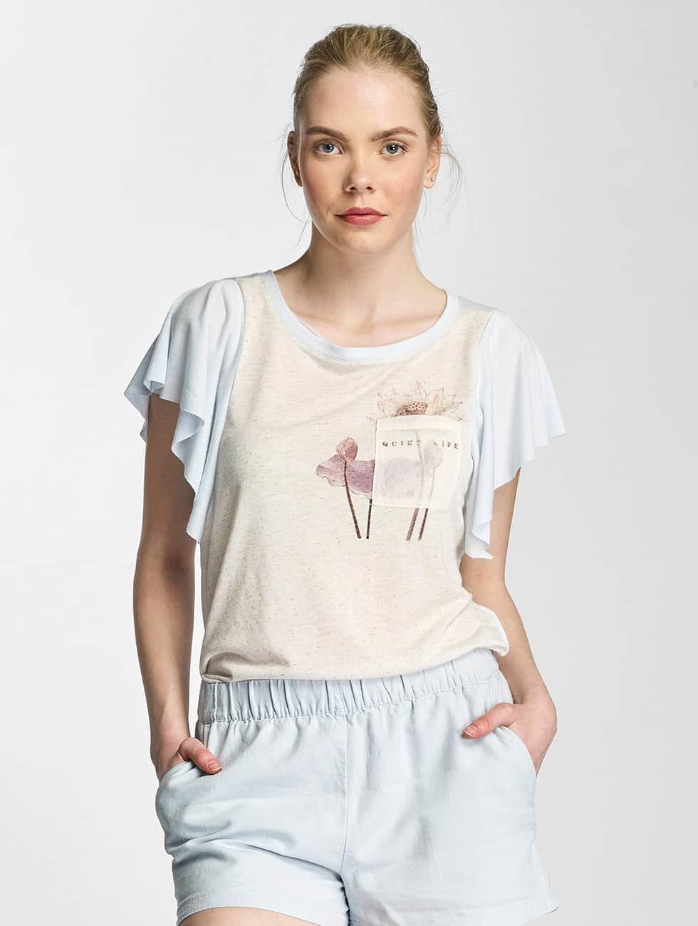 Vero Moda T-Shirt vmLife blau