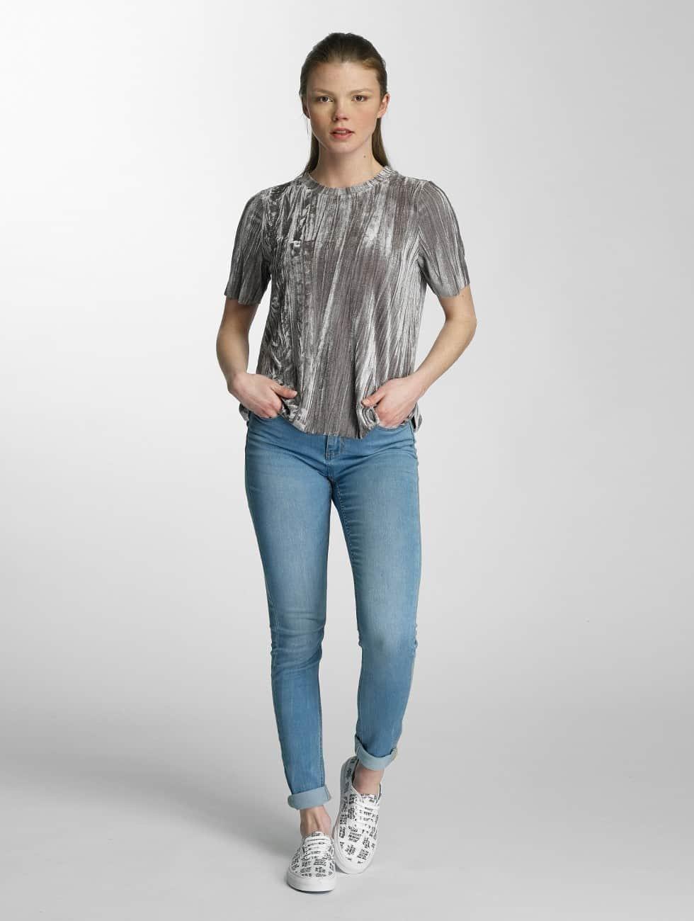 Vero Moda T-Shirt vmMaila gray