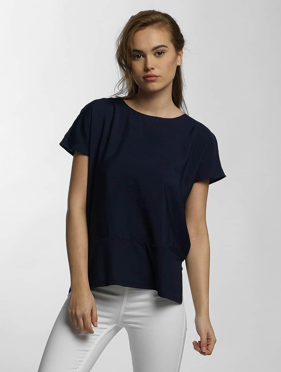 Vero Moda Tričká vmSatino modrá