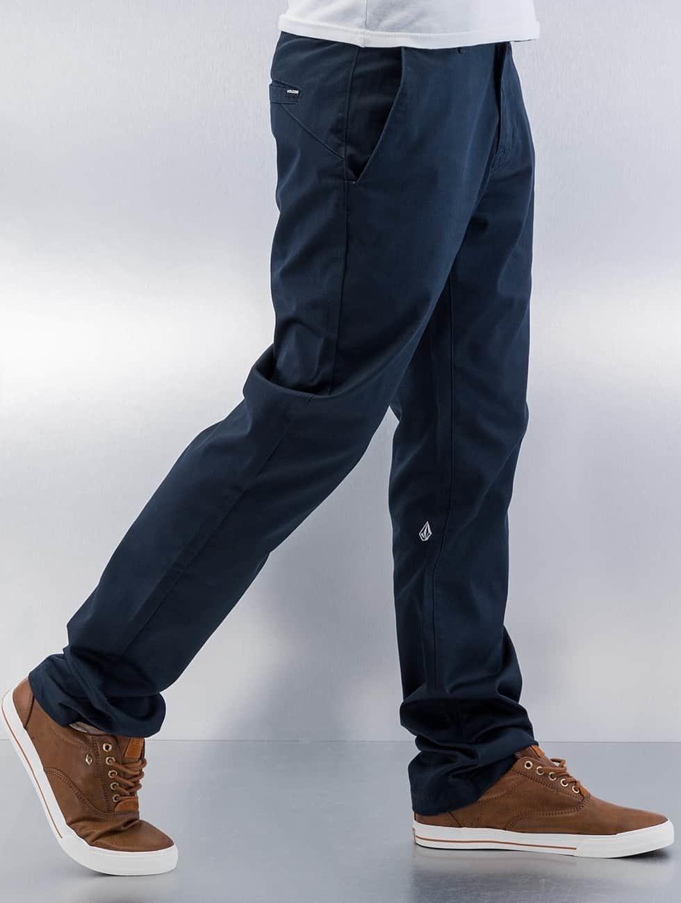 Volcom Chino Frickin Modern blauw