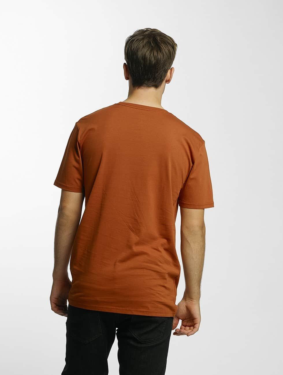Volcom T-Shirt Line Euro Basic brun