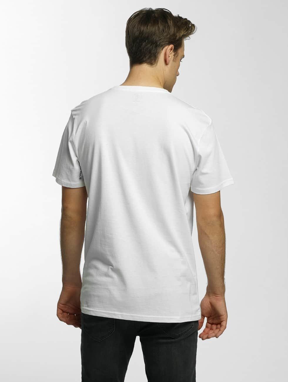 Volcom Tričká Burnt Basic biela