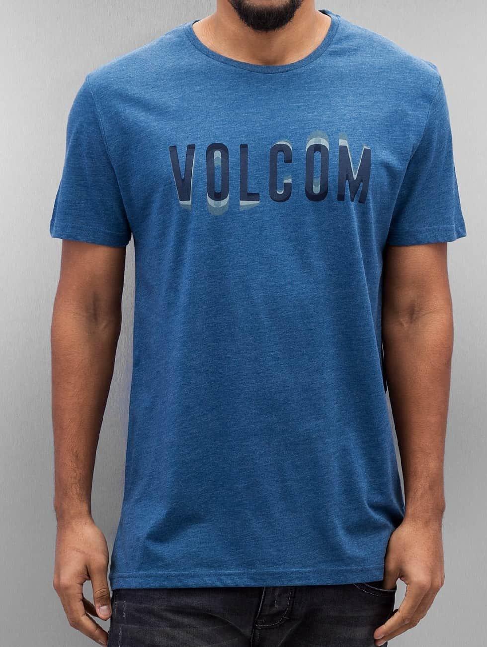 Volcom Tričká Warble modrá