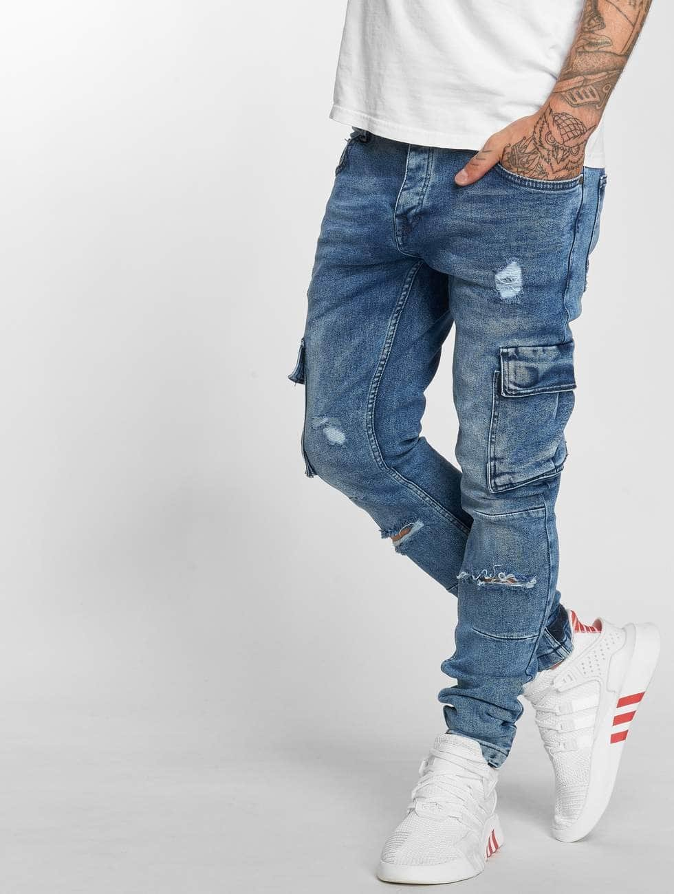 VSCT Clubwear Antifit Knox Cargo Adjust Hem niebieski
