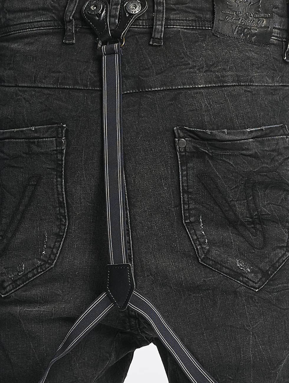VSCT Clubwear Antifit Brad Black Denim schwarz