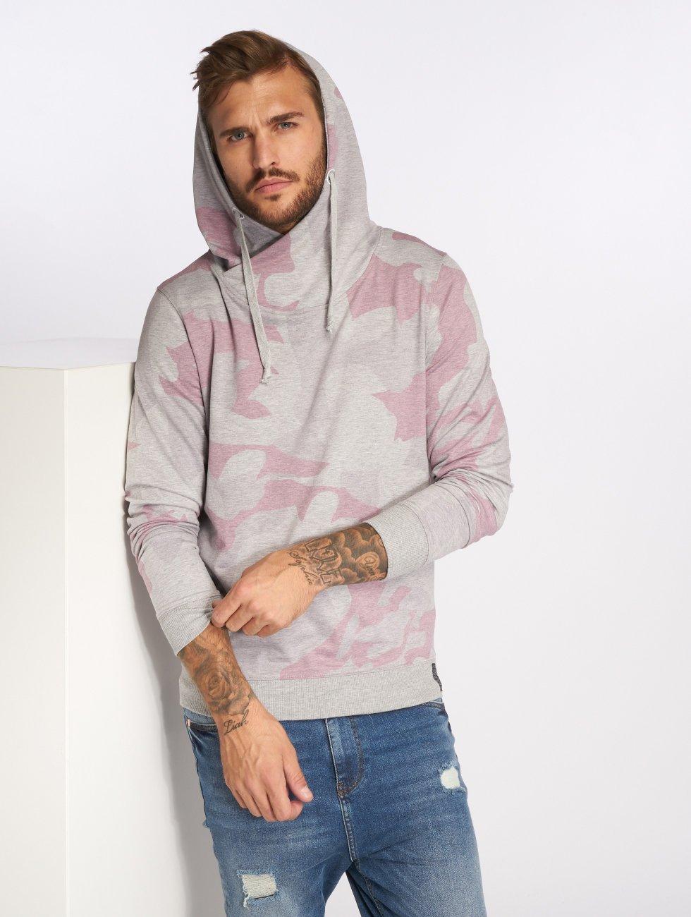 VSCT Clubwear Bluzy z kapturem Camo moro