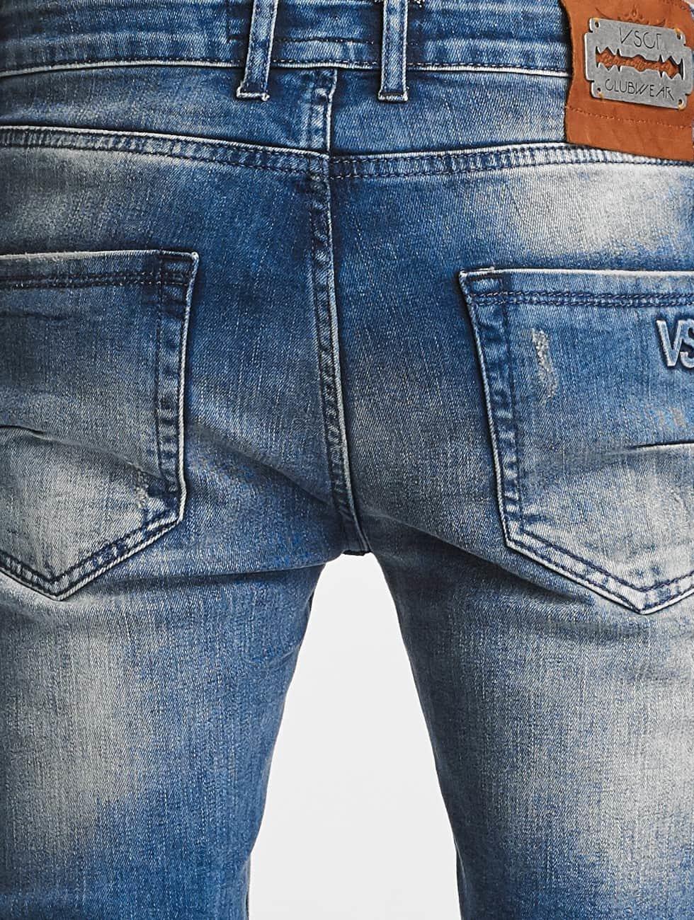VSCT Clubwear dżinsy przylegające Maurice niebieski