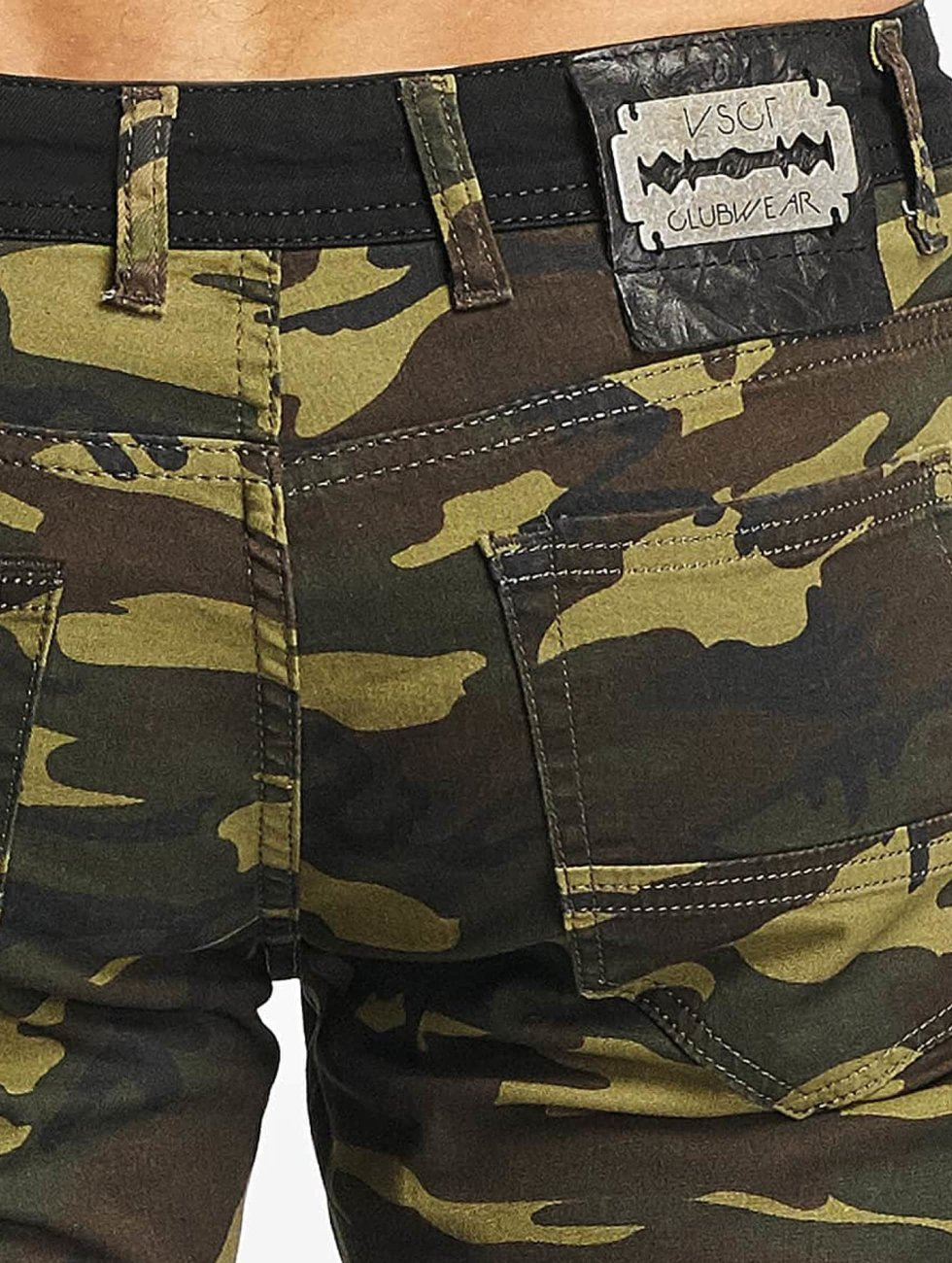 VSCT Clubwear Short Biker camouflage