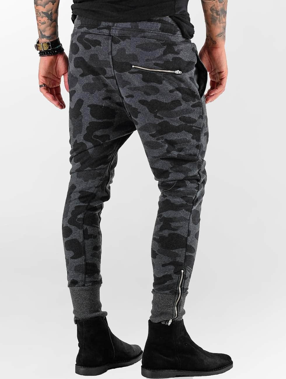 VSCT Clubwear Spodnie do joggingu Camo szary