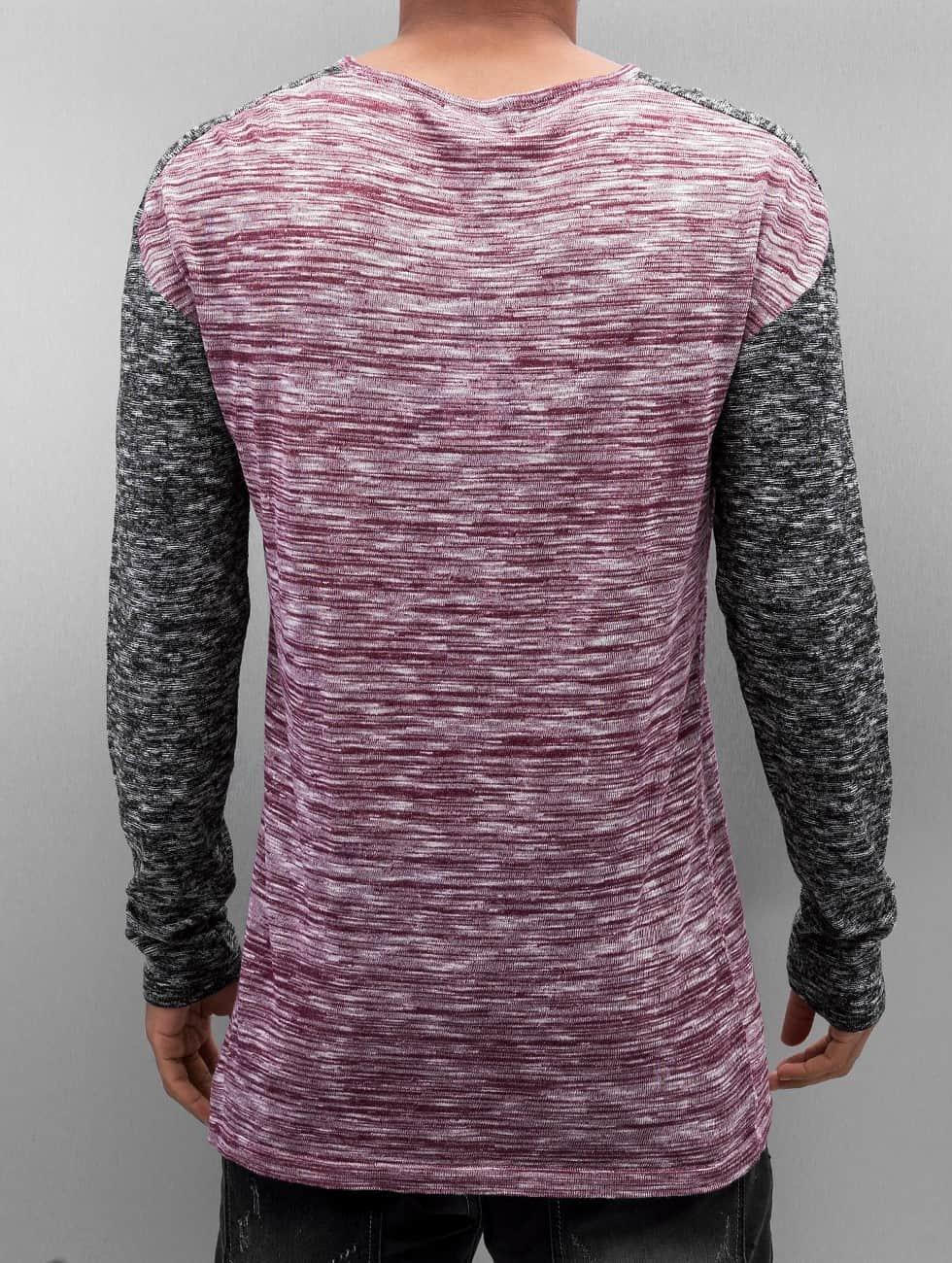VSCT Clubwear Swetry 2 Colour Moulinee czerwony