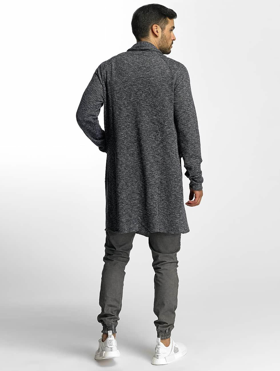 VSCT Clubwear Swetry rozpinane Open Mounlinee indygo