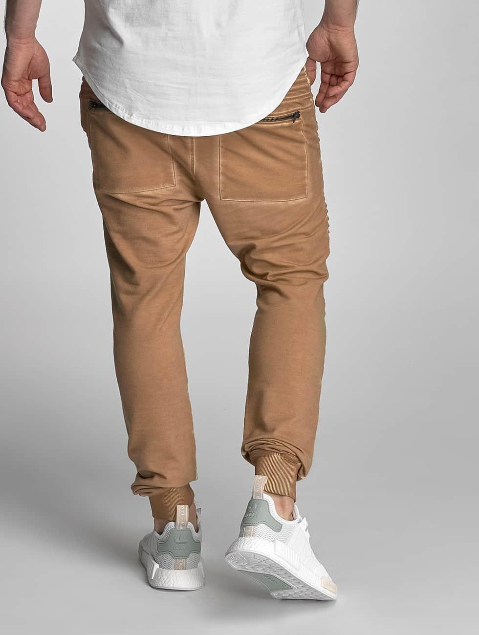 VSCT Clubwear tepláky Biker béžová