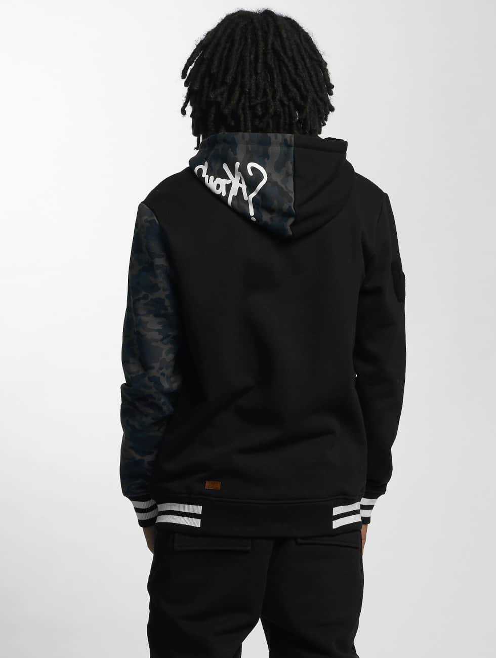 Who Shot Ya? Hoodie DarkCamou black