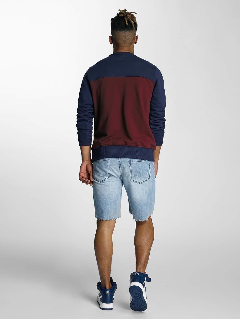 Wrung Division Pullover Posh blau